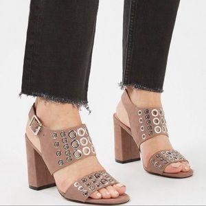 Topshop Nadia Block Heel